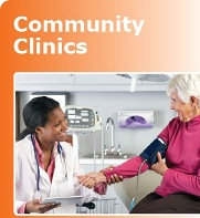 link to community clinics brochure