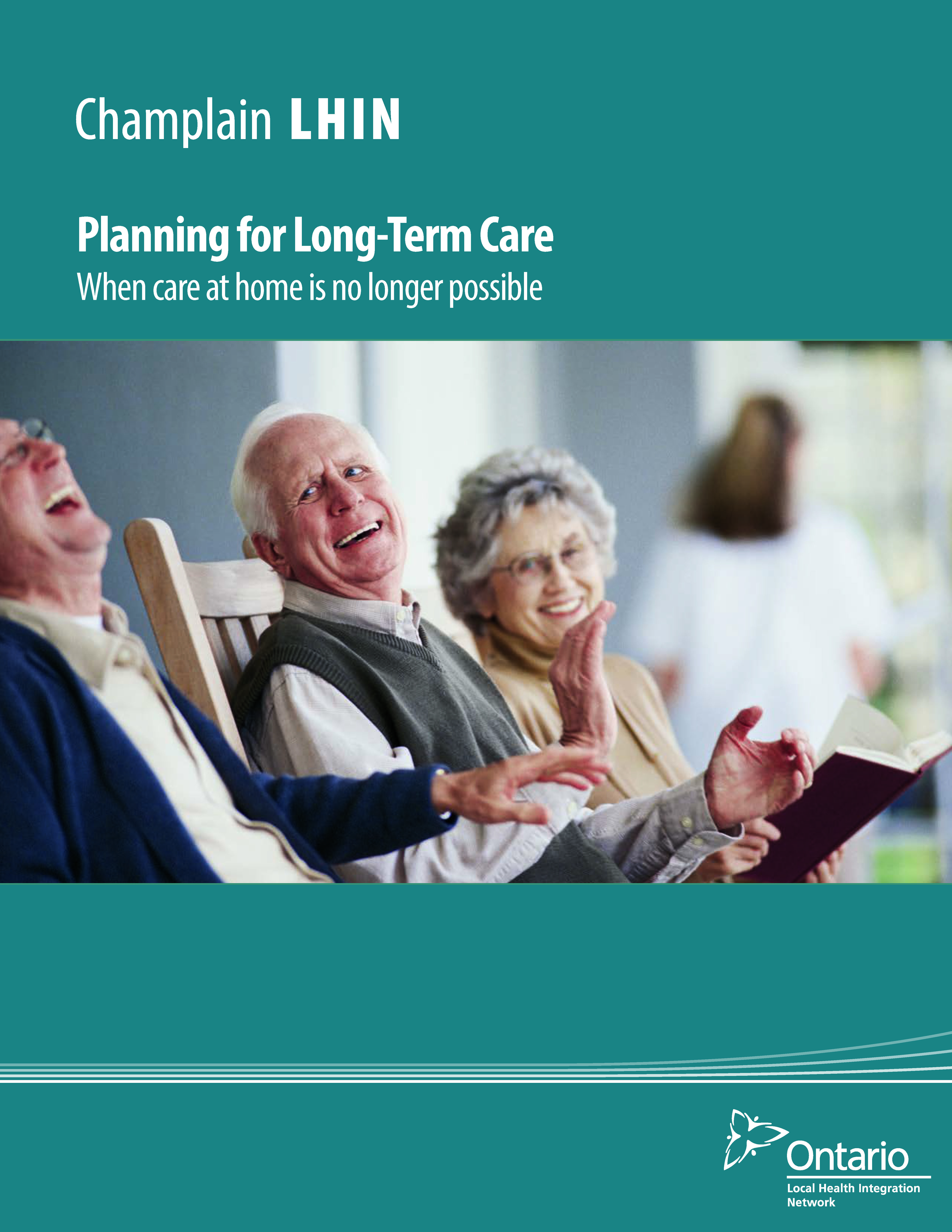 Cover of Planning for Long-Term Care brochure