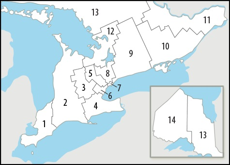 CCAC Provincial Boundary Map