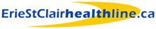 The Erie St. Clair Healthline Logo