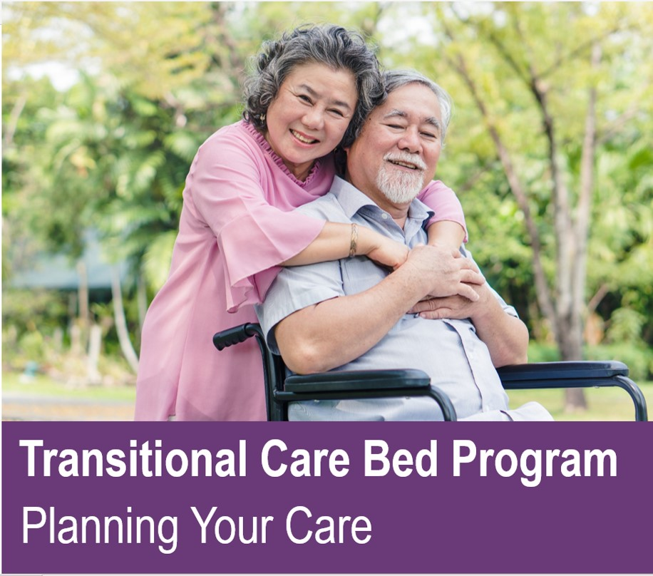Transitional Care Bed Program ... Planning Your Care
