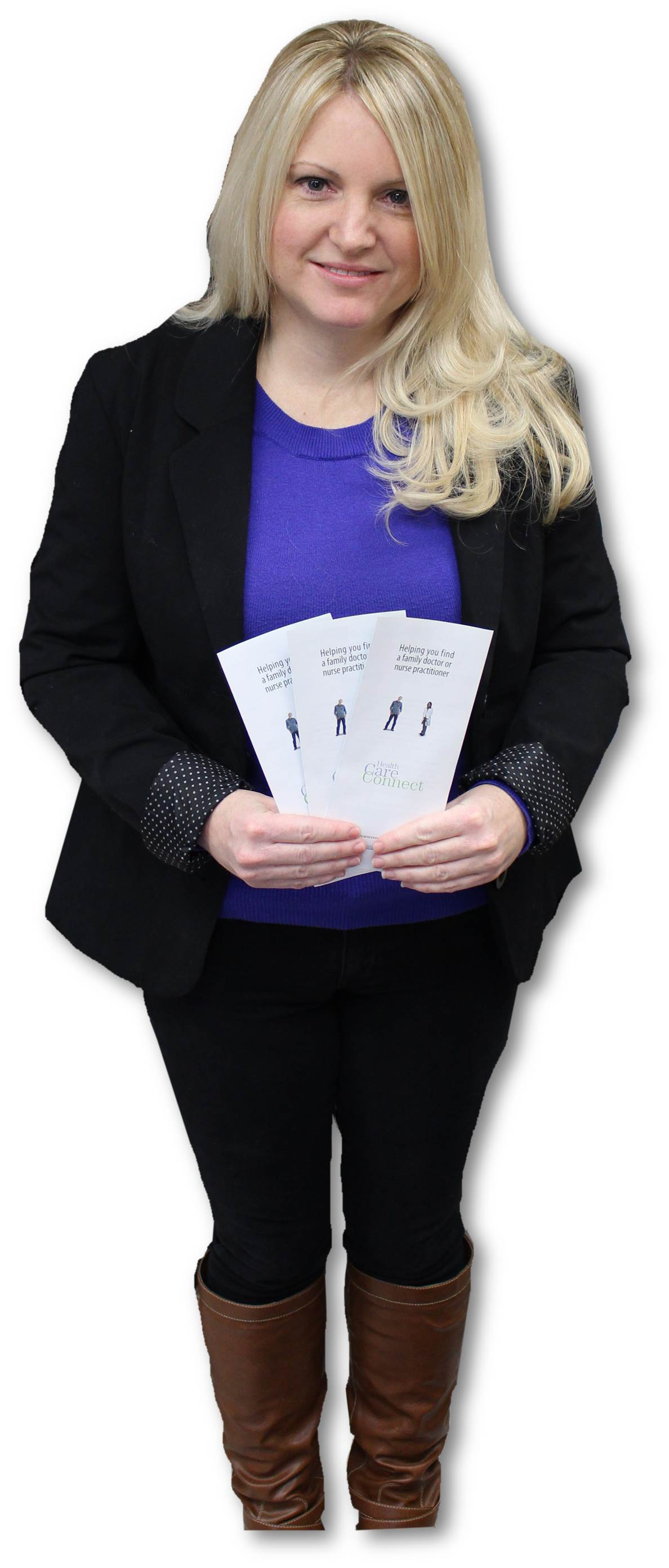 Angela with Brochures 3.jpg