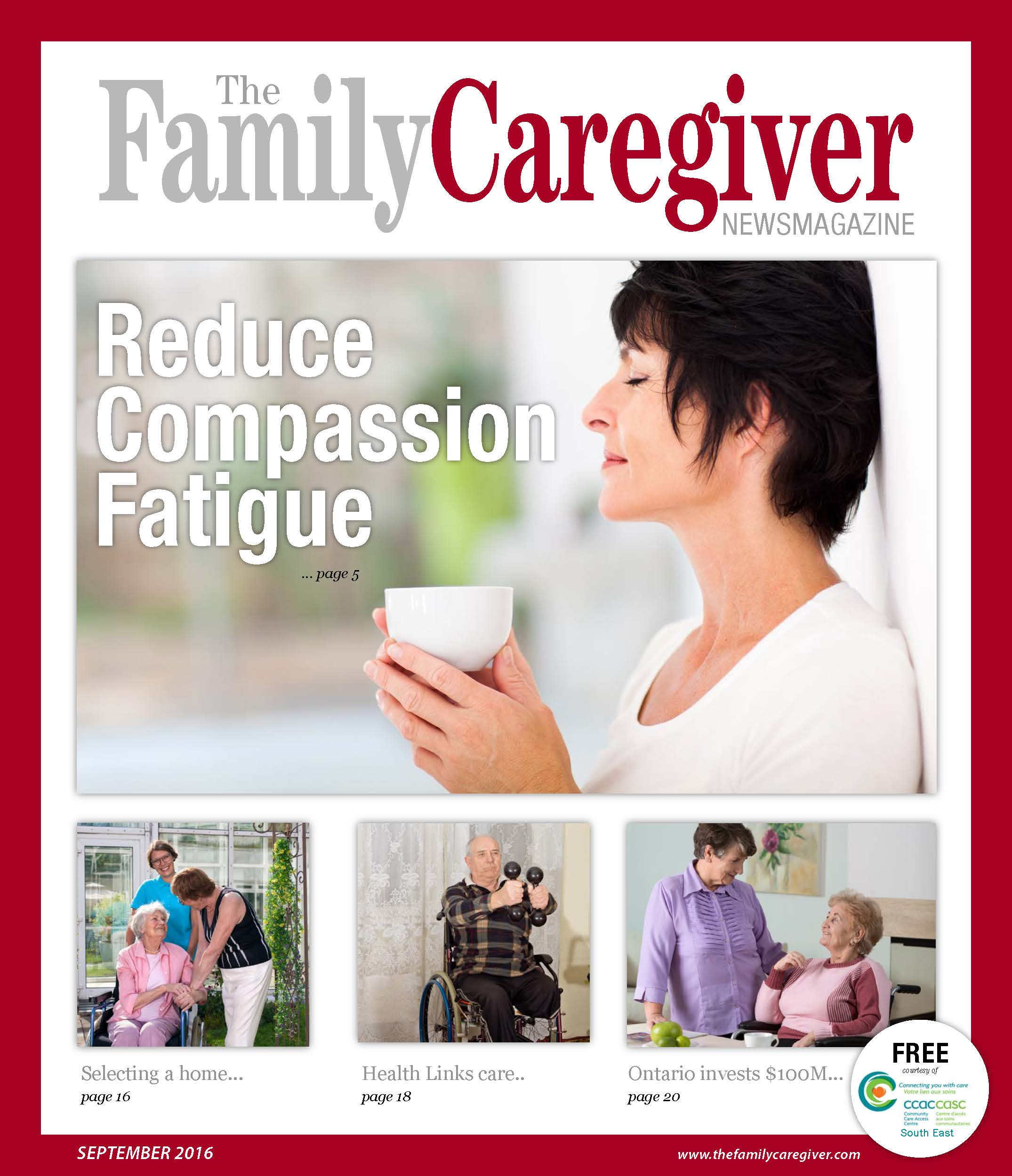cover of September 2016 Family Caregiver newsmagazine.jpg