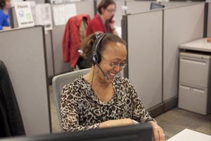 Photo of call centre