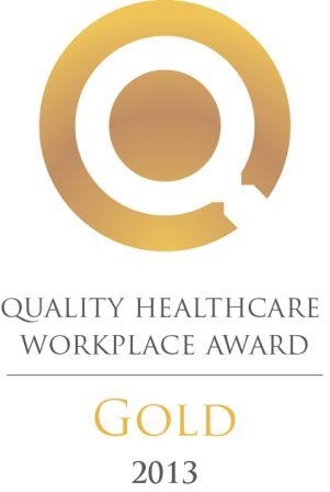 Gold Award- Quality Healthcare Workplace
