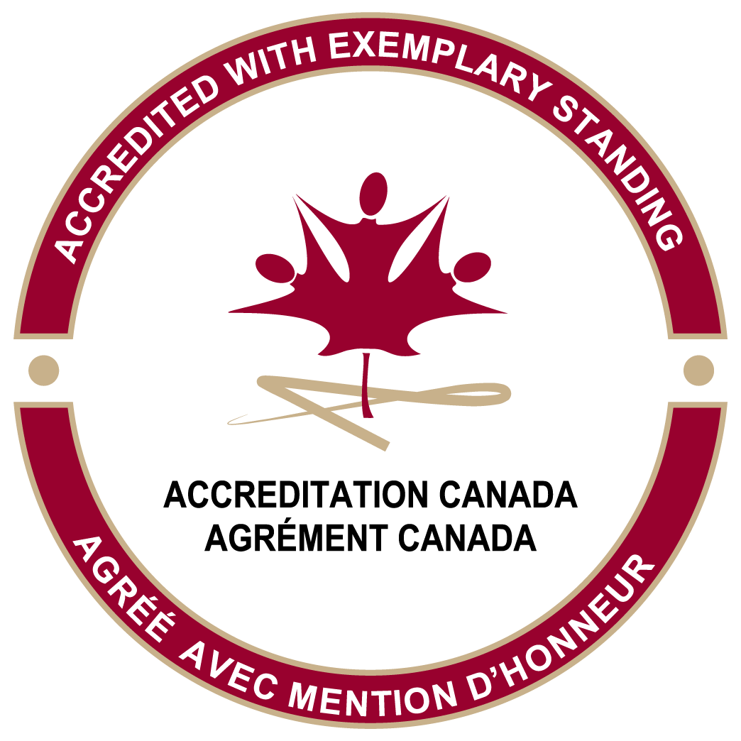 Logo for Accreditation with Exemplary Standing